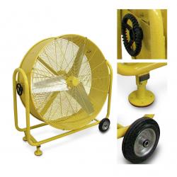 Ventilador industrial de tambor