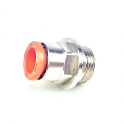 """Racor Baja presión rosca 3/8"""" M - Tubería 10 mm"""