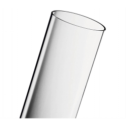 Tubo cristal estufa pirámide