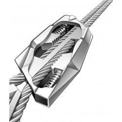 Cable acero para líneas aéreas 10 metros