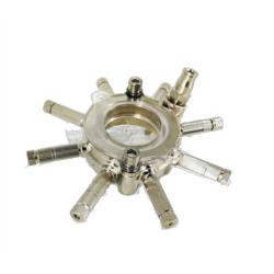 Aro multiboquilla con 8 salidas para tubo de sombrilla