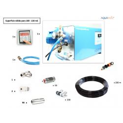 Kit Bomba-motor 4 L para 100 - 150 m2